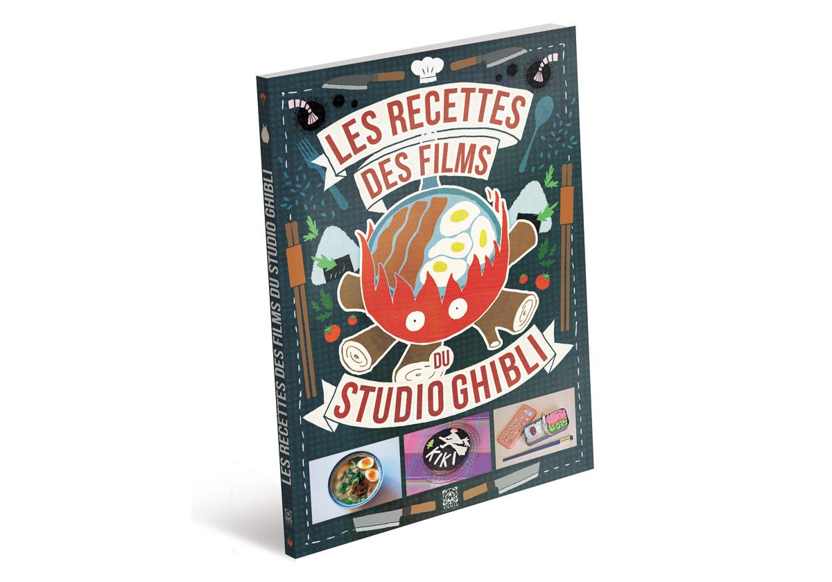 Livre de cuisine pour faire les recettes des films du studio Ghibli