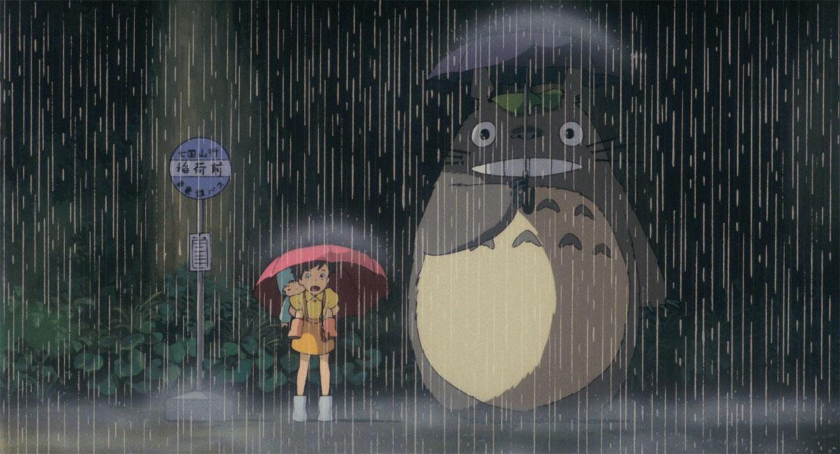 Studio Ghibli ajoute 250 images gratuites avec Mon voisin Totoro