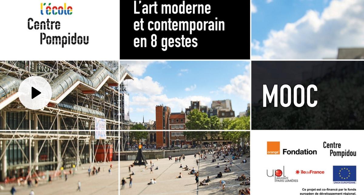 mooc art contemporain centre pompidou