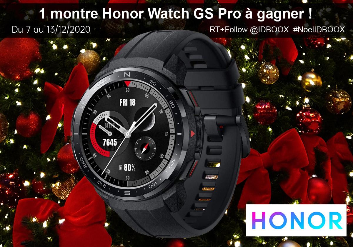 Jeu concours - Une montre Honor Watch GS Pro à gagner pour Noël
