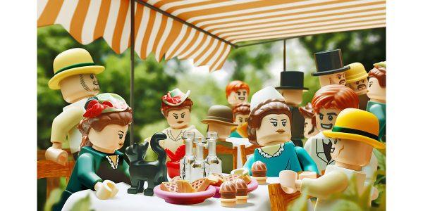 Des tableaux de maître en LEGO