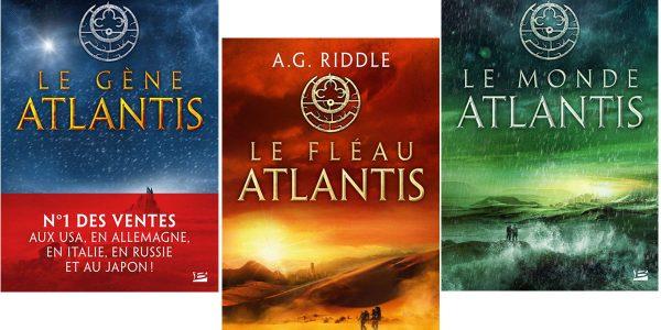 Livre Le Monde Atlantis édité chez Bragelonne