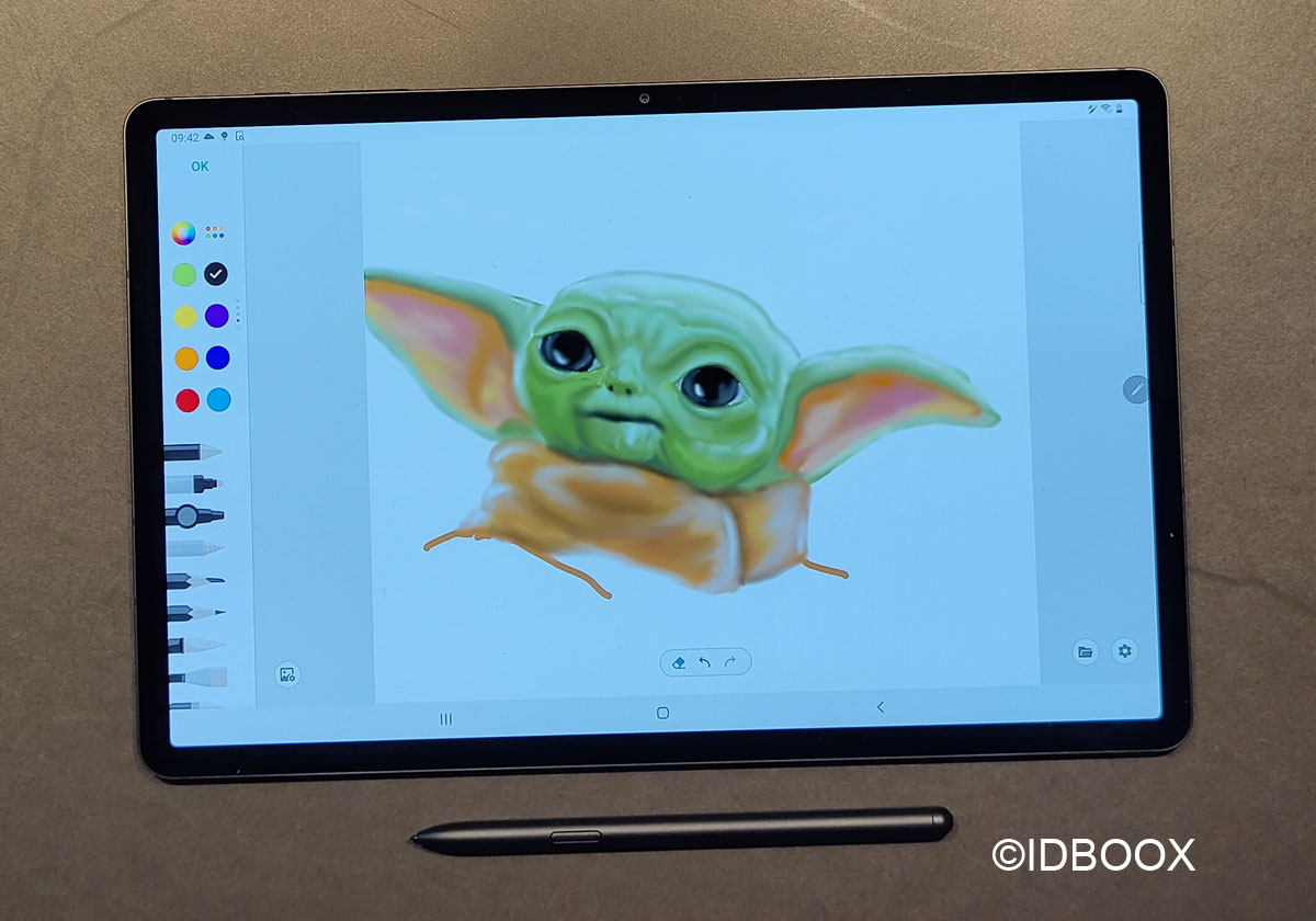 Samsung Galaxy Tab S7+ Test de la vraie concurrente de l'iPad Pro