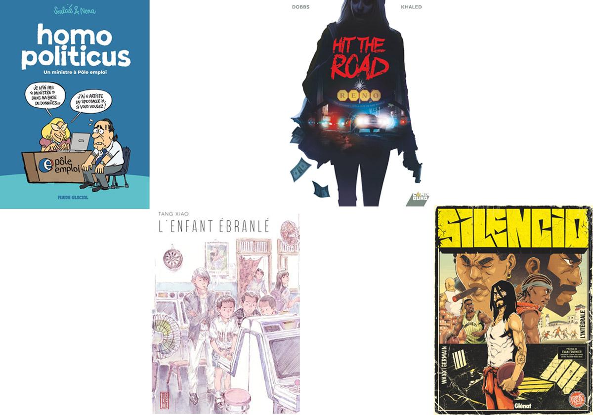 4 BD à lire ce week-end