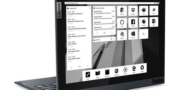 Lenovo ThinkBook Plus Gen 2 - Une PC portable avec une deuxième écran e-ink