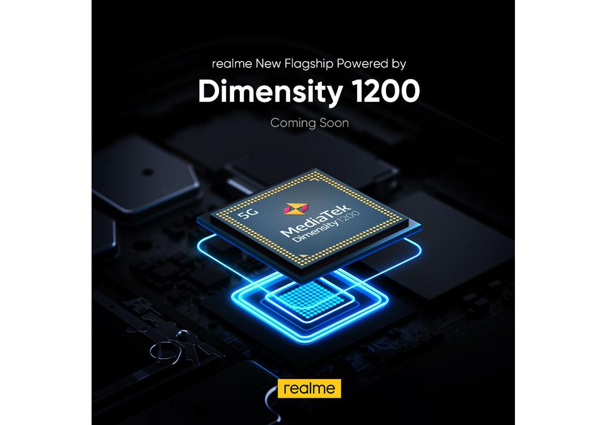 realme X9 Pro avec un processeur Mediatek Dimensity 1200 5G