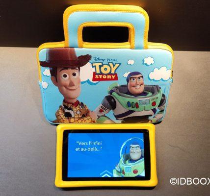 Test tablette Disney pour les enfants