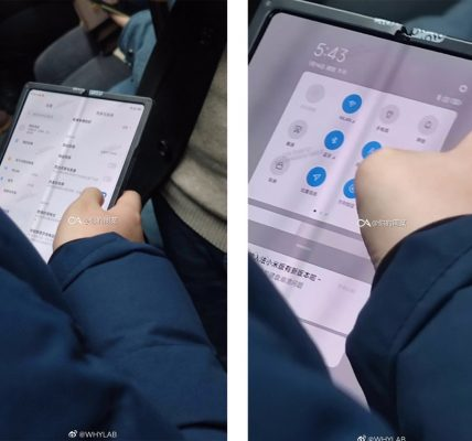 Xiaomi - Son smartphone pliablé repéré dans le métro