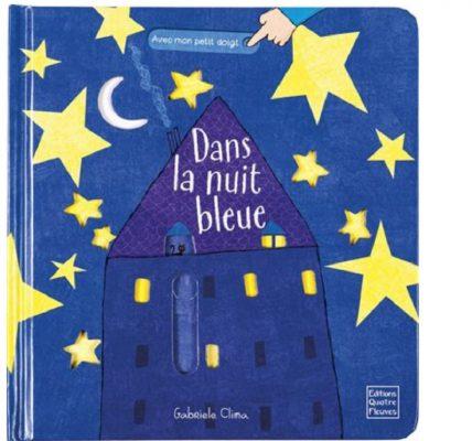 dans la nuit bleue livre enfants