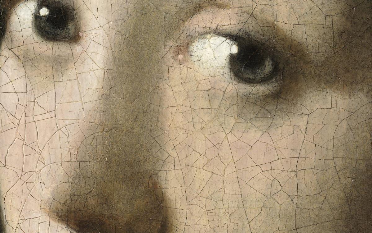 la jeune fille a la perle 10 milliards pixel