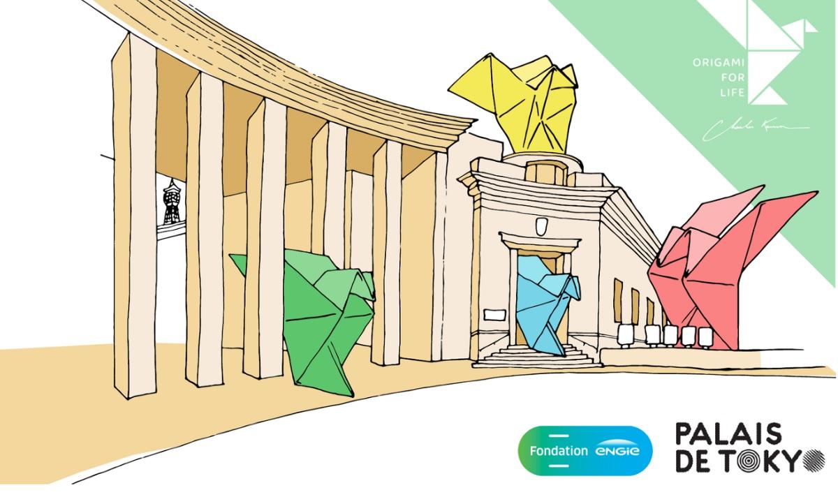 origami for life expo palais de tokyo