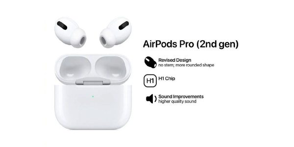 Apple AirPods Pro 2 - Une nouvelle forme