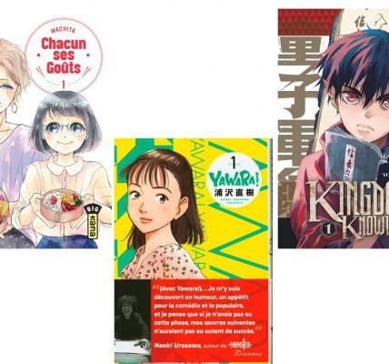 3 Manga à dévorer ce week-end