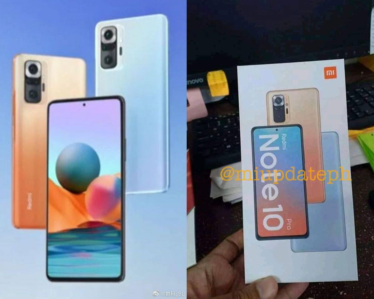 Xiaomi Redmi Note 10 Pro dévoile son design