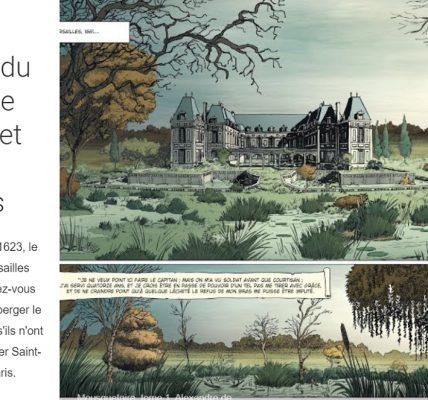 expo chateau de versailles bande dessinee