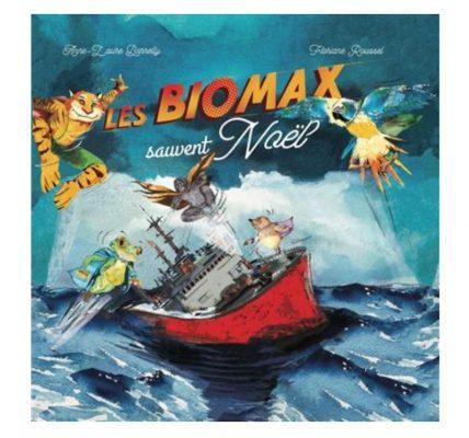 livre biomax sauvent noel ecologie enfants