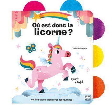 ou est donc la licorne livre enfant