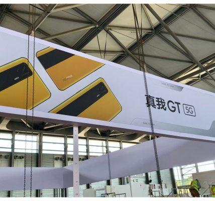 realme GT 5G - Le puissant smartphone repéré à Shanghai