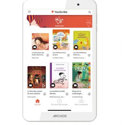 tablette archos youscribe