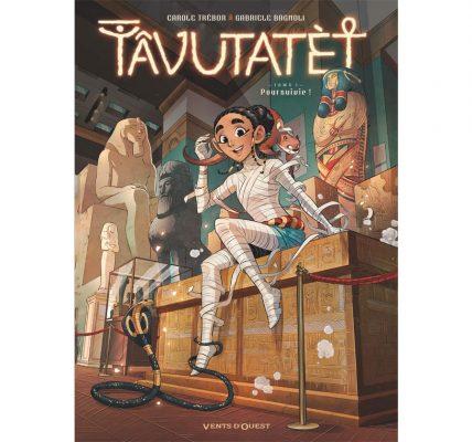 BD Tavutatet - Une momie dans le monde moderne