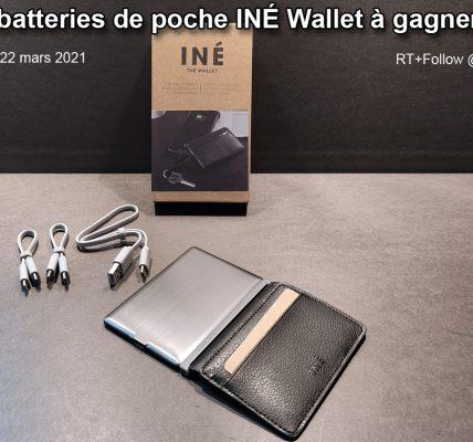 Jeu concours Iné Wallet