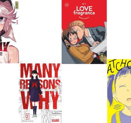 Quate mangas à lire ce week-end sous la couette