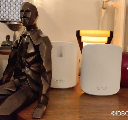 Orbi WiFi 6 Test du routeur Wifi