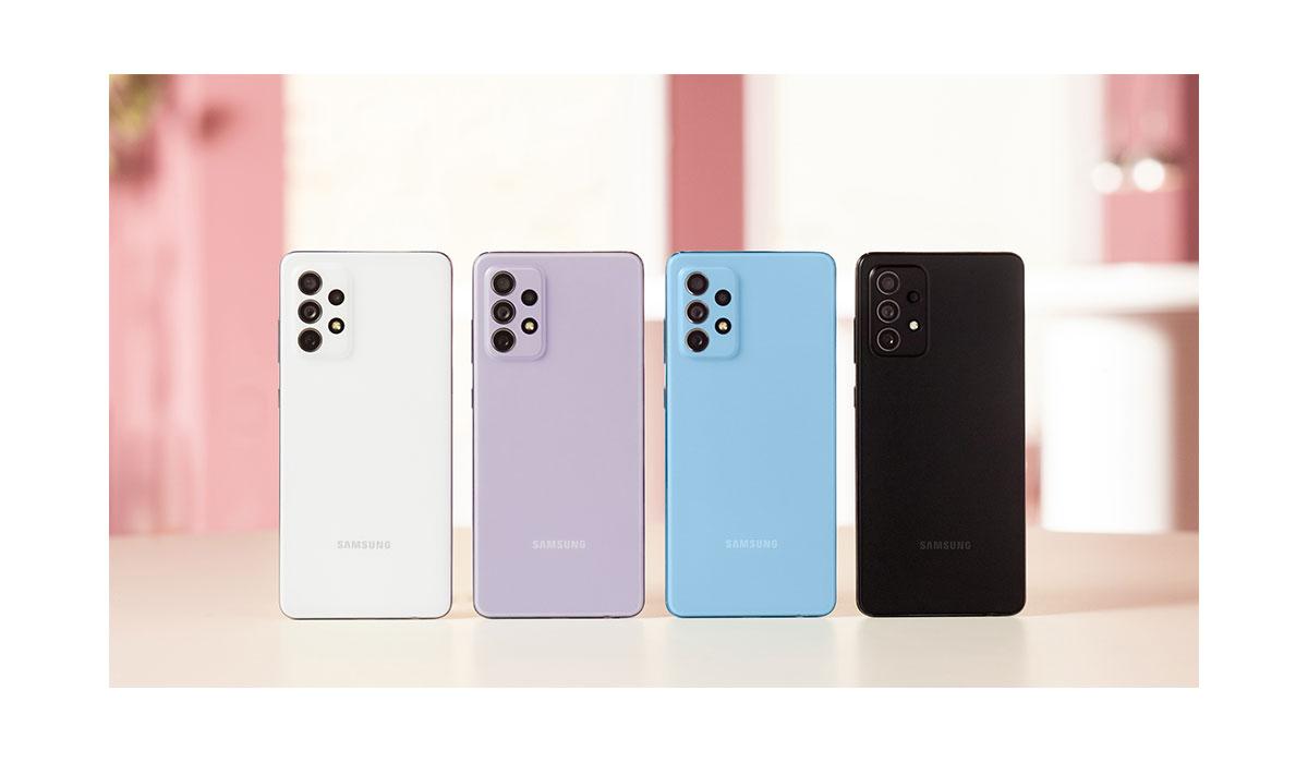 Samsung Galaxy A52 5G, Galaxy A52 et Galaxy A72 - Les points forts et les offres de lancement
