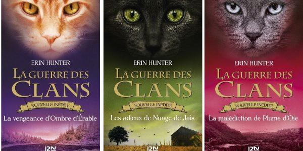 livre Visuel Guerre des clans éditions 12-21