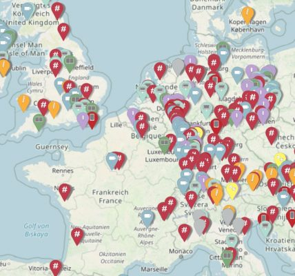 covid-19 carte actions musées monde