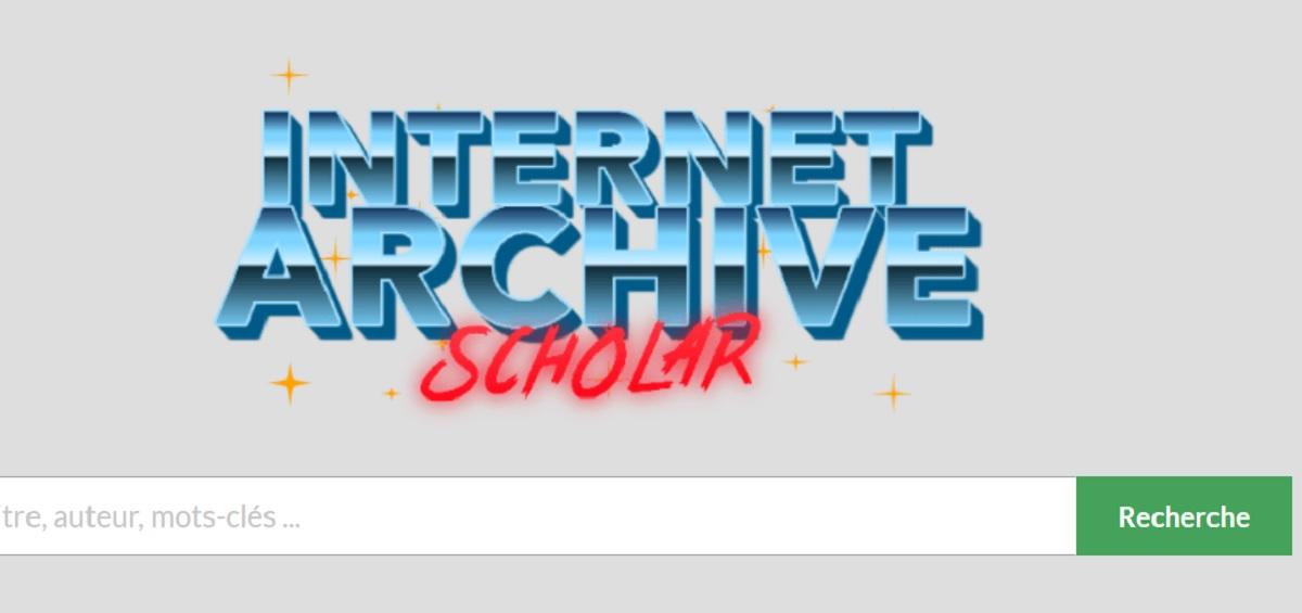 internet archive scholar infos