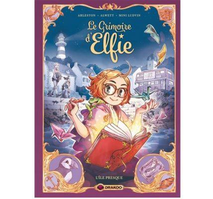 le grimoire d elfie livre jeunesse