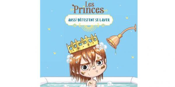 les princes aussi detestent se laver livre enfant