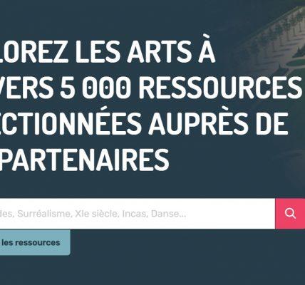 nouveau portail des arts gratuit education