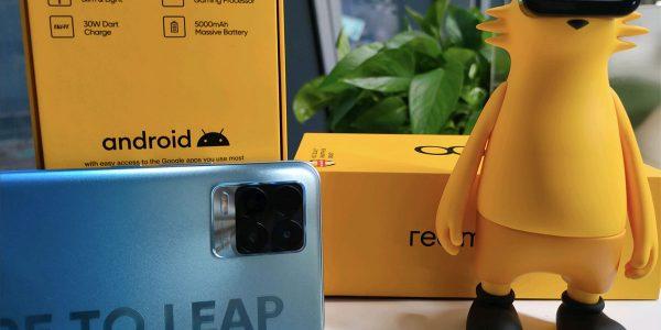 realme 8 - Le CEO poste une photo du smartphone