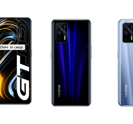 Le realme GT annoncé à 360€ en Chine