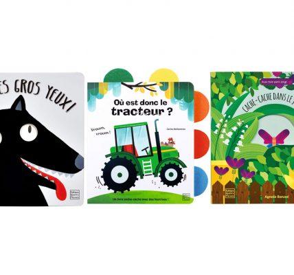 Une sléection de livres pour les enfants de 0 à 3 ans