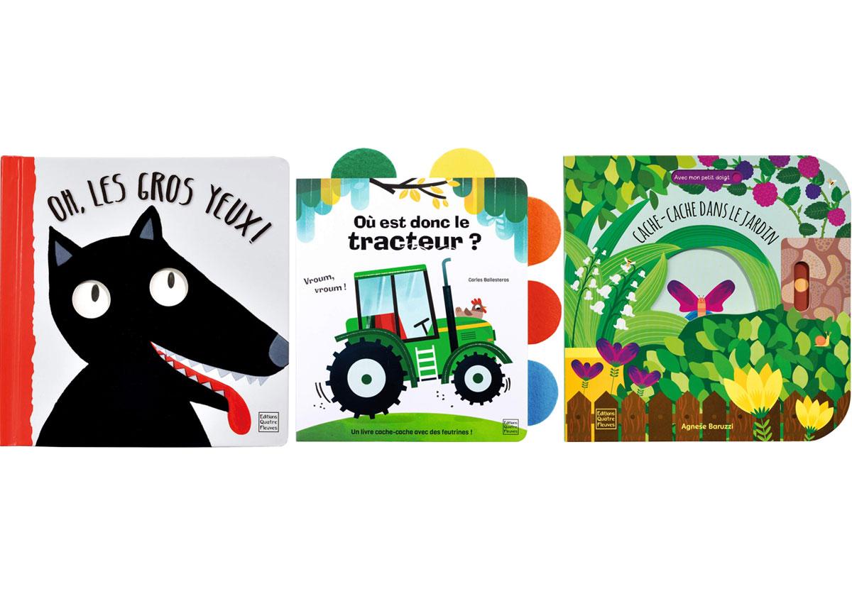 Notre sélection de livres pour les enfants de 0 à 3 ans