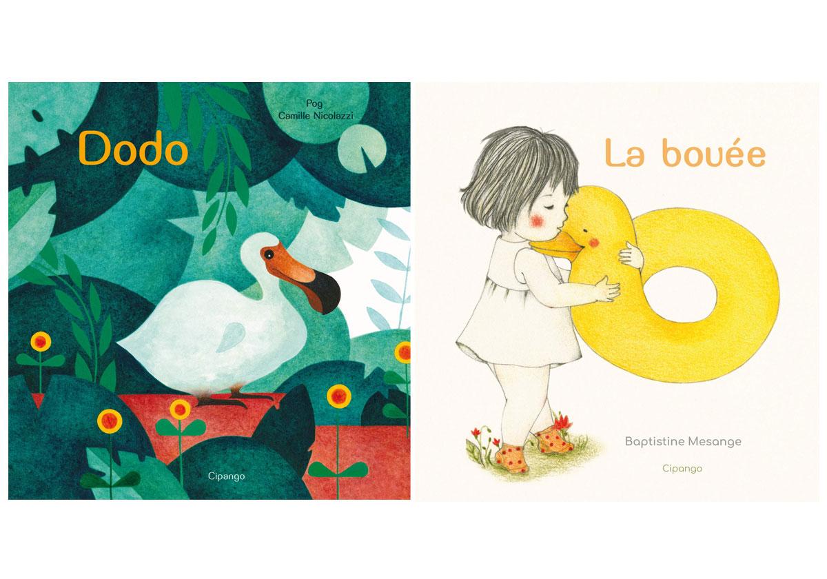 Sélection deux livres pour les enfants de 2 ans