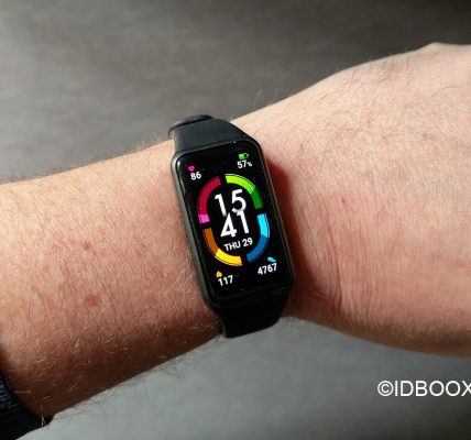 Honor Band 6 Test - Un grand écran AMOLED facile à utiliser