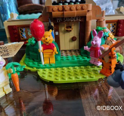 Set LEGO Winnie L'ourson - On a monté le set