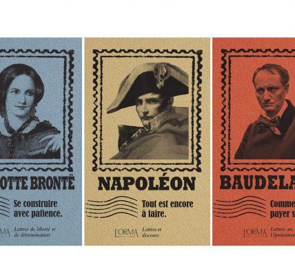 Livres Les Plis - 3 nouveautés Napoléon, Charlotte Brontë, Baudelaire