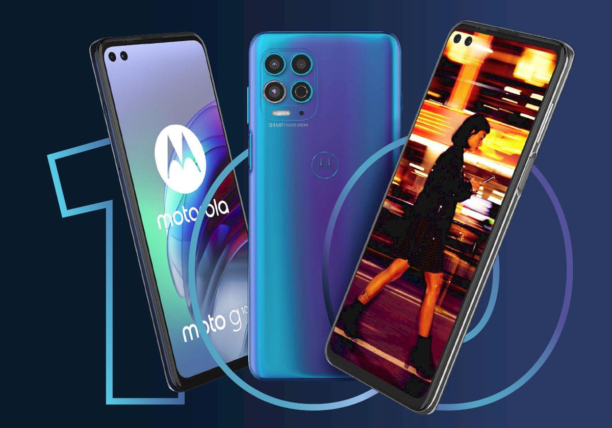 Motorola Moto G50 et Moto G100 - La 5G à petit prix