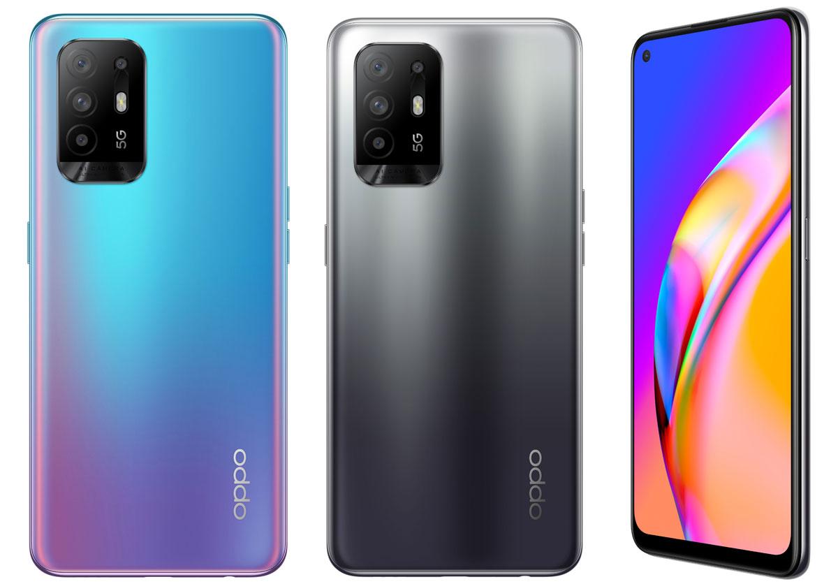 Oppo A54, A74 et A94 - 3 nouveaux smartphones 5G à petits prix