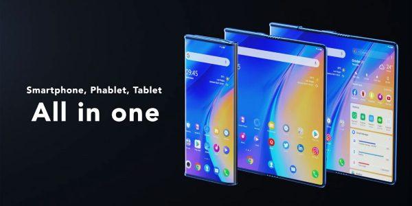 TCL Fold'n Roll - un smartphone pliable trois en 1