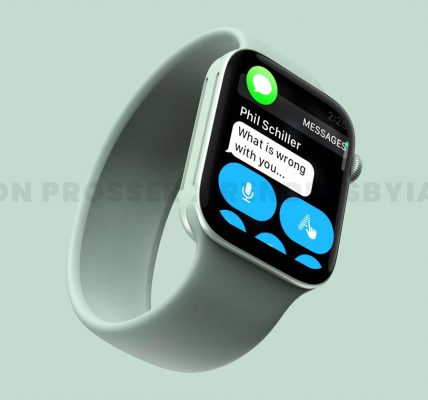 Apple Watch Series 7 - Un boitier plus grand