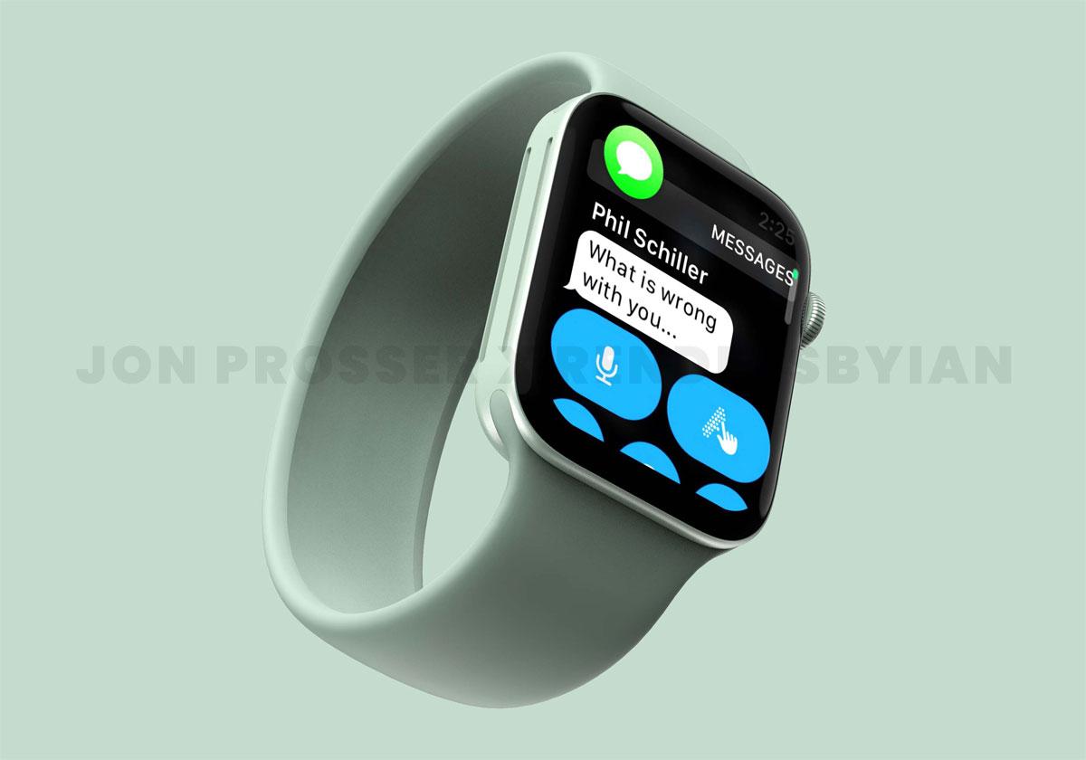 Apple Watch Series 7 avec une plus grosse batterie