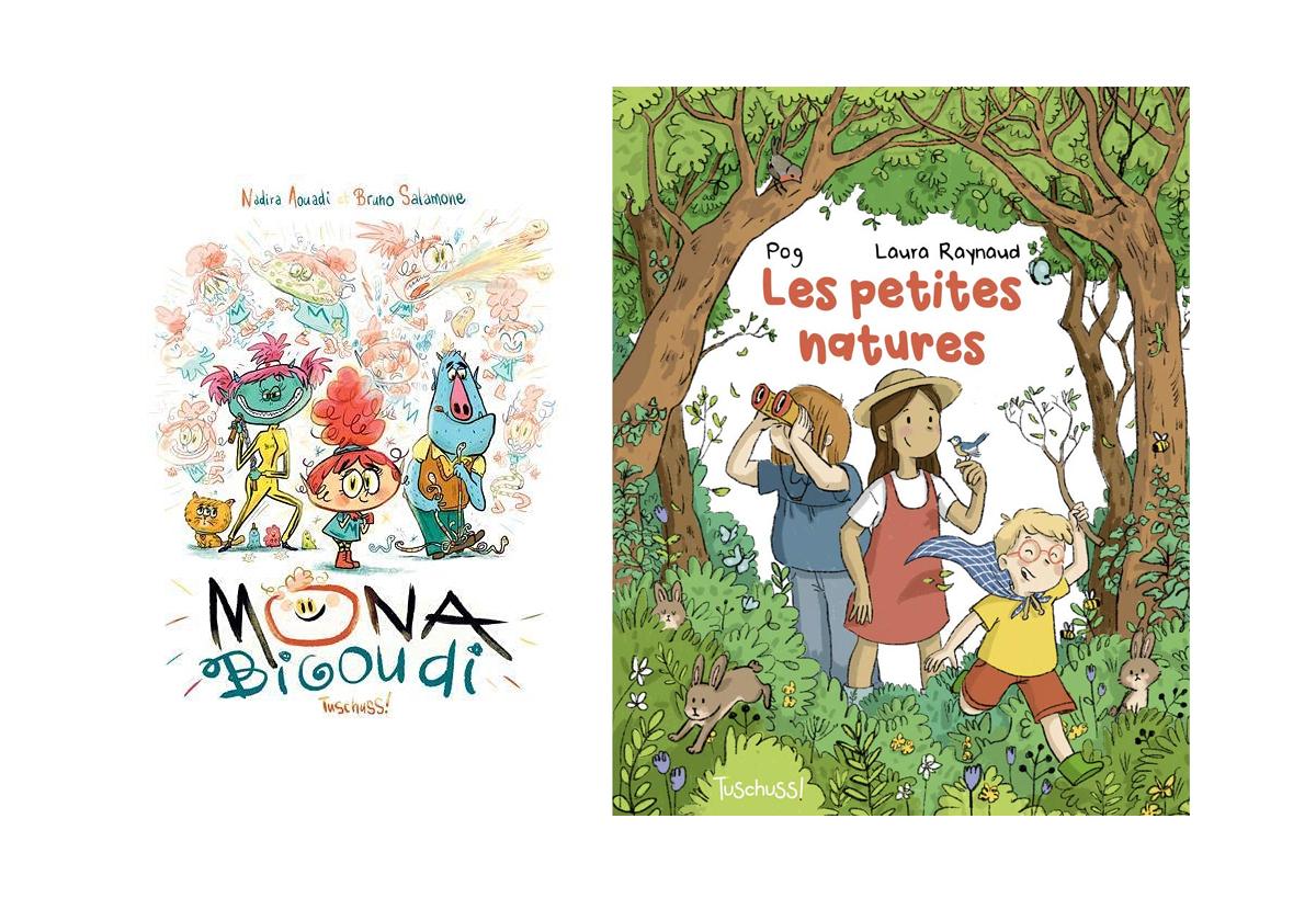 2 BD pour enfants à lire ce week-end
