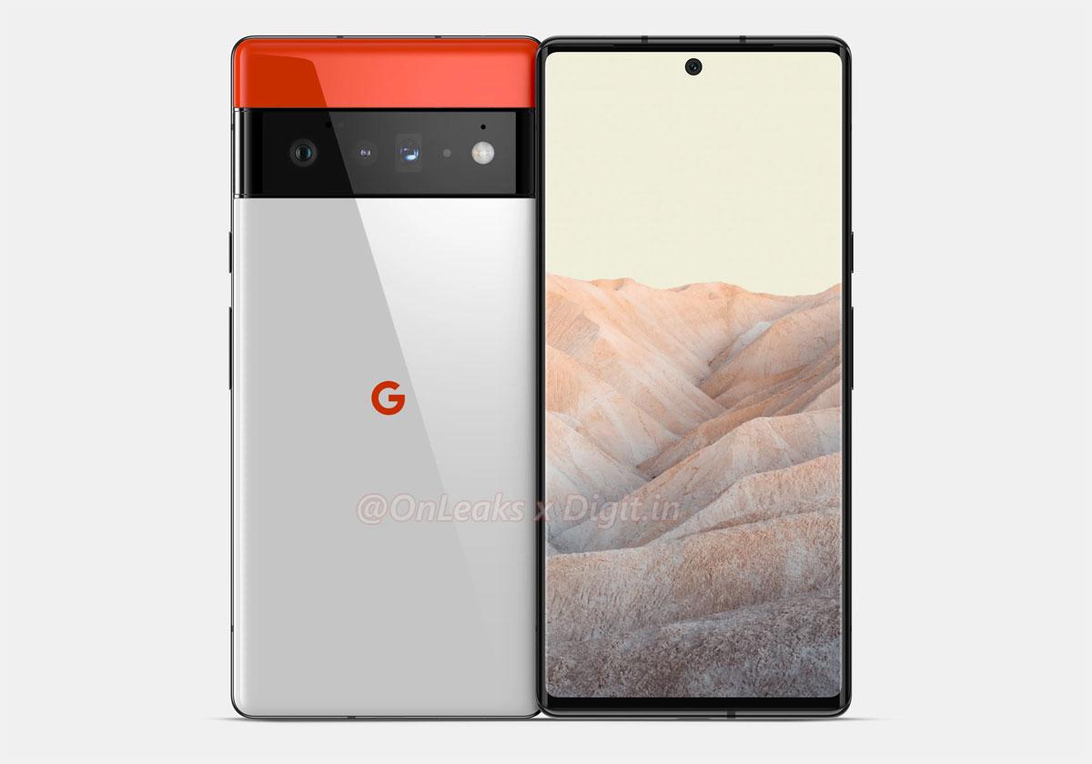 Google Pixel 6 6 un changement radical de design