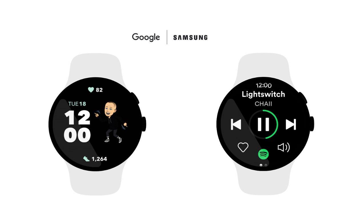 Samsung et Google développent ensemble un nouvel OS pour montres connectées